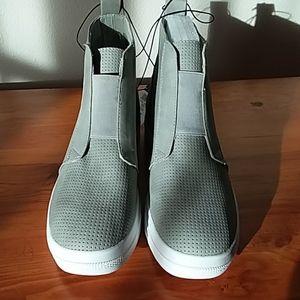 Rue 21 Grey Platform Tennis Shoes